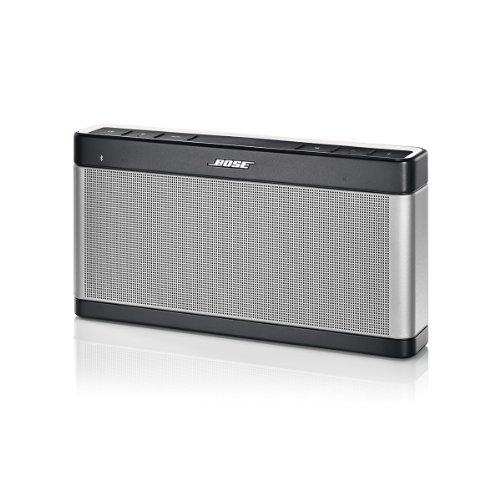 Bose ® SoundLink Bluetooth Lautsprecher III silber