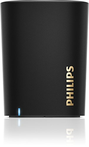 Philips BT100B/00 portabler Bluetooth-Lautsprecher (2 Watt, Mikrofon) schwarz