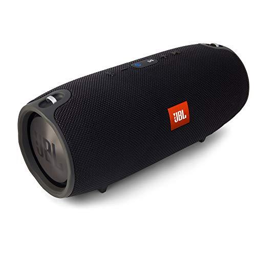 JBL Xtreme Spritzwasserfester Tragbarer Bluetooth Lautsprecher mit 10,000 mAh Akku, Dualem USB-Ladea...
