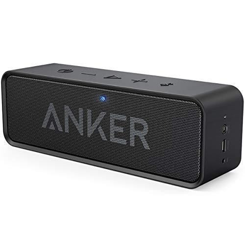 Anker SoundCore Bluetooth Lautsprecher, Tragbarer Lautsprecher mit unglaublicher 24 Stunden Akkulauf...