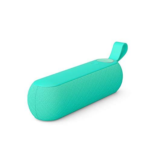 Libratone TOO Bluetooth Lautsprecher (360° Sound, Touch Bedienung, IPX4 Spritzwassergeschützt, 12 Std. Akku) caribbean green