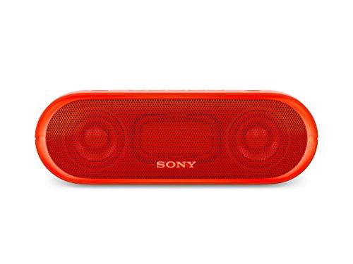 Sony SRS-XB20 Tragbarer, kabelloser Lautsprecher (farbige Lichtleiste, Extra Bass, Bluetooth, NFC, w...
