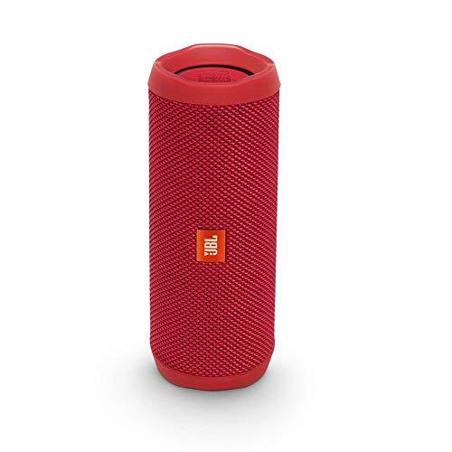 JBL Flip 4 Bluetooth Box - Wasserdichter, tragbarer Lautsprecher mit Freisprechfunktion und Alexa-In...