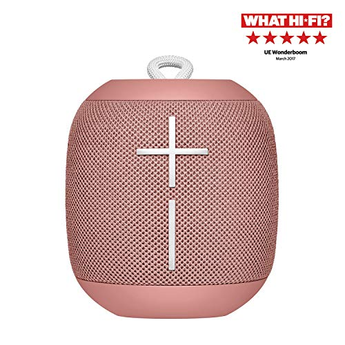 Ultimate Ears Wonderboom 1 Bluetooth Lautsprecher (wasserdichter 360°-Sound) - pfirsich