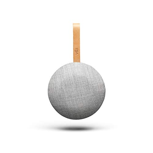 Vifa Reykjavik | WiFi & Bluetooth Lautsprecher | Tragbare, kabellose Musikbox | Skandinavisches Design - Sandsteingrau