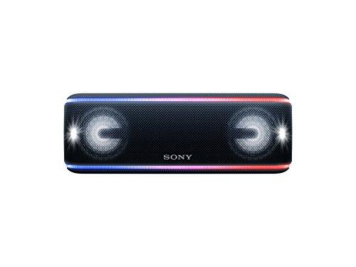 Sony SRS-XB41 kabelloser Bluetooth Lautsprecher (tragbar, mehrfarbige Lichtleiste, Lautsprecherbeleu...