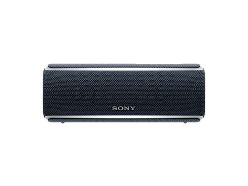 Sony SRS-XB21 kabelloser Bluetooth Lautsprecher (tragbar, farbige Lichtleiste, Extra Bass, NFC, wass...