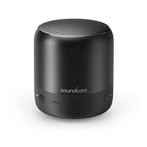 Soundcore Mini 2 Bluetooth Lautsprecher von Anker, mit Wasserschutzklasse IPX7, 15 Stunden Spielzeit...