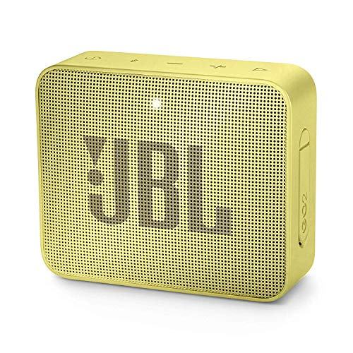 JBL GO 2 kleine Musikbox - Wasserfester, portabler Bluetooth-Lautsprecher mit Freisprechfunktion - B...