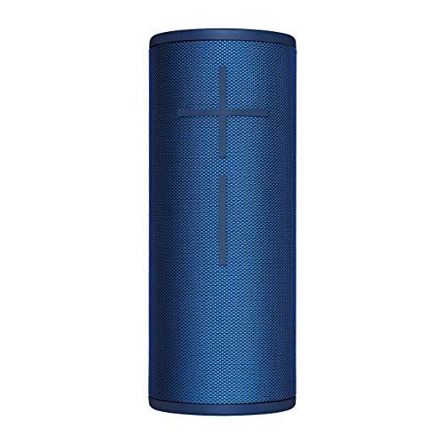 Ultimate Ears BOOM 3 Bluetooth-Lautsprecher (satter Sound kräftige Bässe, Magic Button, wasserfest, 15 Stunden Akkulaufzeit, 45 m Reichweite) blaue lagune