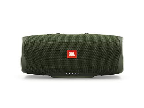 JBL Charge 4 Bluetooth-Lautsprecher - Wasserfeste, portable Boombox mit integrierter Powerbank - Mit...