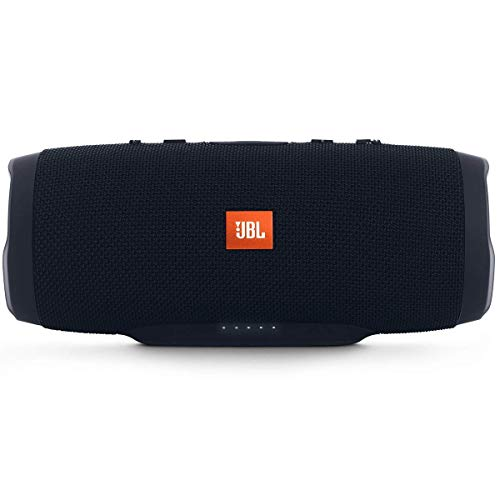 JBL Charge 3 Stealth Edition Bluetooth-Lautsprecher (Wasserfeste, portable Boombox mit integrierter ...