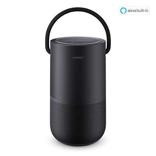 Bose Portable Home Speaker – mit integrierter Alexa-Sprachsteuerung, in Schwarz